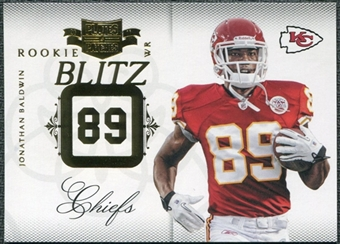 2011 Panini Plates and Patches Rookie Blitz #16 Jonathan Baldwin /249