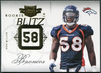 2011 Panini Plates and Patches Rookie Blitz #20 Von Miller /249