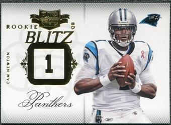 2011 Panini Plates and Patches Rookie Blitz #30 Cam Newton /249