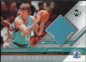 2005/06 Upper Deck UD Materials #CH Chris Anderson