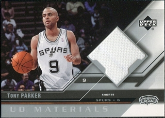 2005/06 Upper Deck UD Materials #TP Tony Parker
