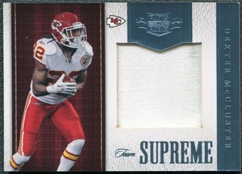 2011 Panini Plates and Patches Team Supreme Materials #20 Dexter McCluster /50