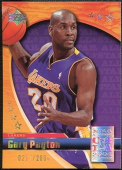 2004 Upper Deck All-Star Game #GP Gary Payton /2004