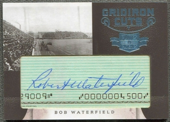 2011 Panini Plates and Patches Gridiron Cut Autographs #3 Bob Waterfield Autograph /10