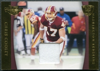 2011 Panini Plates and Patches NFL Equipment #3 Chris Cooley /150