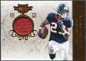 2011 Panini Plates and Patches Jerseys #23 Arian Foster /99