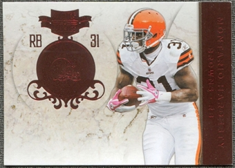2011 Panini Plates and Patches #31 Montario Hardesty /299