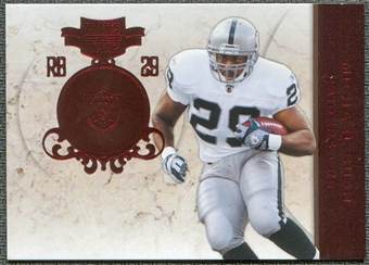 2011 Panini Plates and Patches #77 Michael Bush /299