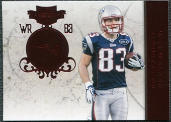 2011 Panini Plates and Patches #83 Wes Welker /299
