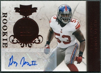2011 Panini Plates and Patches #131 Greg Jones RC Autograph /150