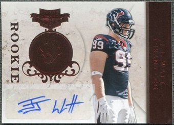 2011 Panini Plates and Patches #134 J.J. Watt RC Autograph /150