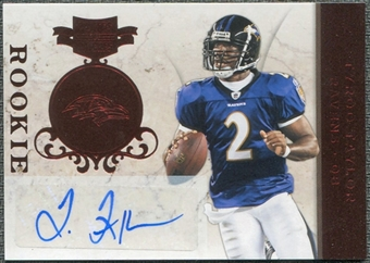 2011 Panini Plates and Patches #179 Tyrod Taylor RC Autograph /199