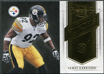 2011 Panini Plates and Patches Honors #6 James Harrison /249