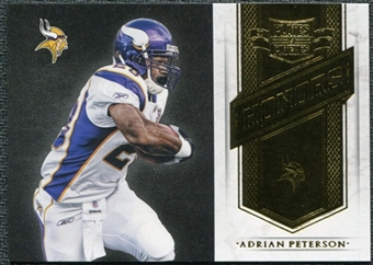 2011 Panini Plates and Patches Honors #11 Adrian Peterson /249