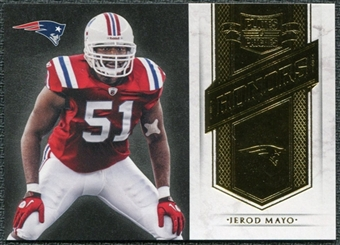 2011 Panini Plates and Patches Honors #16 Jerod Mayo /249