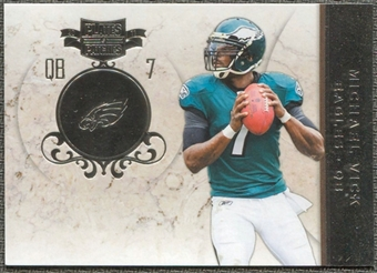 2011 Panini Plates and Patches Silver #7 Michael Vick /100