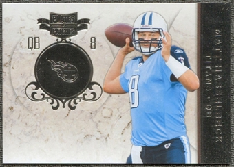 2011 Panini Plates and Patches Silver #37 Matt Hasselbeck /100