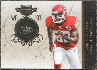 2011 Panini Plates and Patches Silver #82 Dwayne Bowe /100