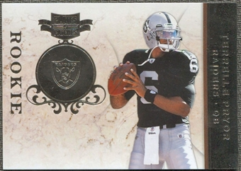 2011 Panini Plates and Patches Silver #101 Terrelle Pryor /100