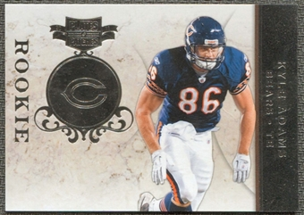 2011 Panini Plates and Patches Silver #147 Kyle Adams RC /100