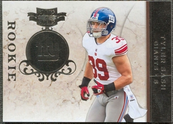 2011 Panini Plates and Patches Silver #178 Tyler Sash /100