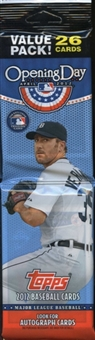 2012 Topps Opening Day Baseball Rack Pack