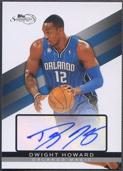 2008/09 Topps Signature #TSADH Dwight Howard Auto #1739/2499
