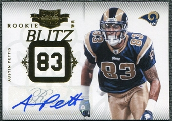 2011 Panini Plates and Patches Rookie Blitz Autographs #29 Austin Pettis RC /10