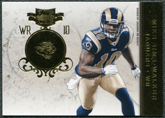 2011 Panini Plates and Patches Gold #49 Mike Sims-Walker /50