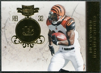 2011 Panini Plates and Patches Gold #78 Cedric Benson /50