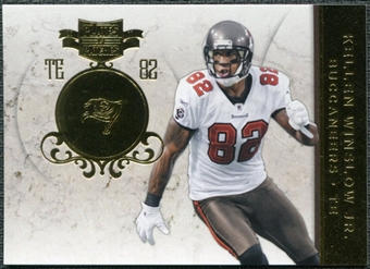 2011 Panini Plates and Patches Gold #91 Kellen Winslow Jr. /50