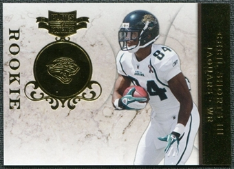 2011 Panini Plates and Patches Gold #117 Cecil Shorts /50
