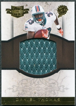 2011 Panini Plates and Patches Rookie Jumbo Materials #11 Daniel Thomas /50