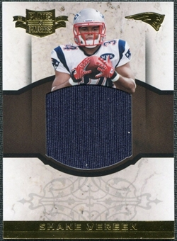 2011 Panini Plates and Patches Rookie Jumbo Materials #30 Shane Vereen /50
