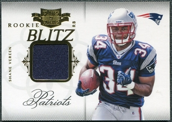 2011 Panini Plates and Patches Rookie Blitz Materials #2 Shane Vereen /299