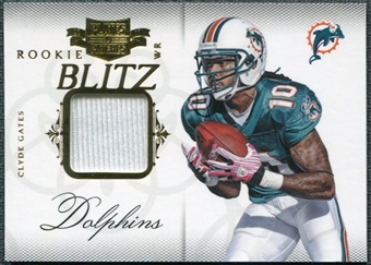2011 Panini Plates and Patches Rookie Blitz Materials #6 Clyde Gates /299