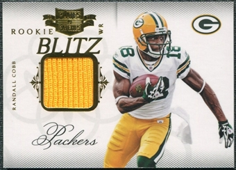 2011 Panini Plates and Patches Rookie Blitz Materials #22 Randall Cobb /299