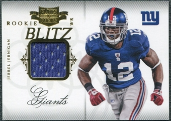 2011 Panini Plates and Patches Rookie Blitz Materials #36 Jerrel Jernigan /299