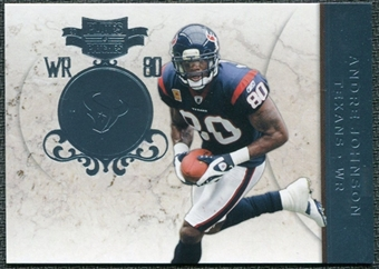 2011 Panini Plates and Patches Platinum #80 Andre Johnson /10