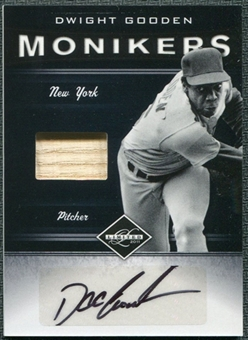 2011 Panini Limited Moniker Bats #12 Dwight Gooden Autograph /62