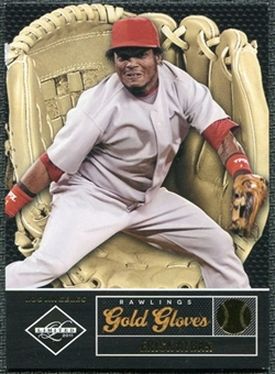 2011 Panini Limited Rawlings Gold Gloves #3 Erick Aybar /299