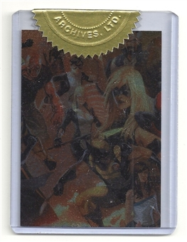 2012 Rittenhouse Marvel Greatest Heroes Avengers Case Toppers #CT2 The Avengers