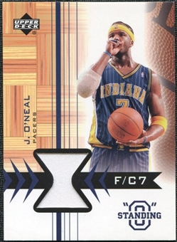 2003/04 Upper Deck Standing O Swatches #JOPH Jermaine O'Neal