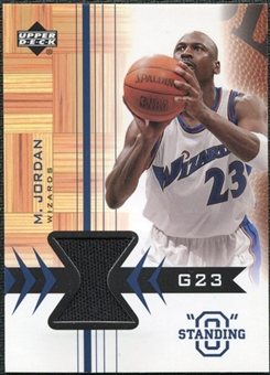 2003/04 Upper Deck Standing O Swatches #MJPH Michael Jordan