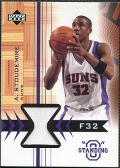 2003/04 Upper Deck Standing O Swatches #ASPH Amare Stoudemire