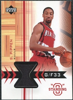 2003/04 Upper Deck Standing O Swatches #SPPH Scottie Pippen
