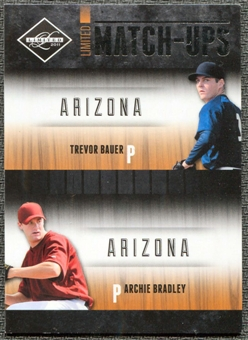 2011 Panini Limited Match-Ups #4 Archie Bradley/Trevor Bauer /199