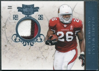 2011 Panini Plates and Patches Jerseys Prime #26 Beanie Wells /25 Patch