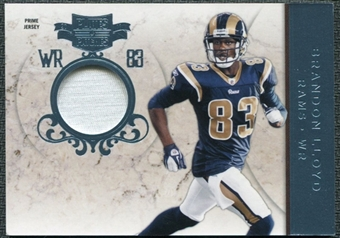 2011 Panini Plates and Patches Jerseys Prime #94 Brandon Lloyd /10 Patch