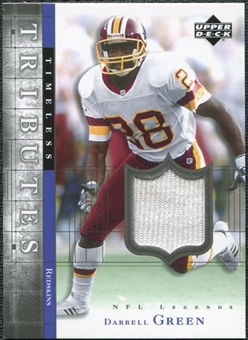 2001 Upper Deck Legends Timeless Tributes Jersey #TTDG Darrell Green